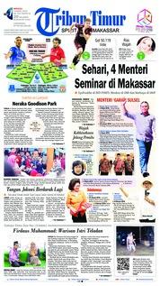 Cover Tribun Timur 03 Maret 2019