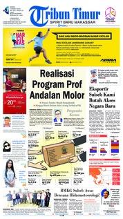 Cover Tribun Timur 04 Maret 2019