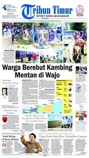 Cover Tribun Timur 07 Maret 2019