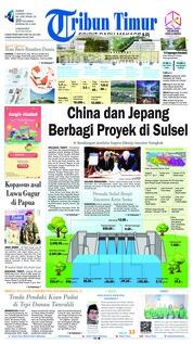 Cover Tribun Timur 08 Maret 2019