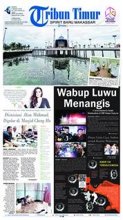 Cover Tribun Timur 09 Maret 2019