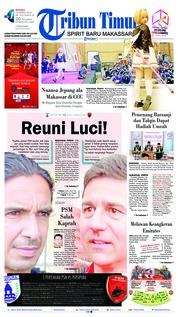 Cover Tribun Timur 10 Maret 2019