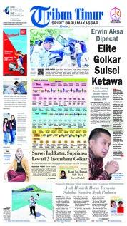 Cover Tribun Timur 20 Maret 2019