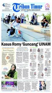 Cover Tribun Timur 21 Maret 2019