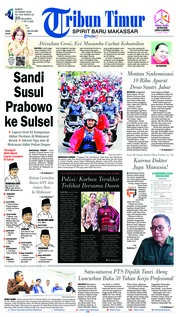 Tribun Timur Cover 23 March 2019