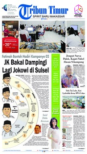 Tribun Timur Cover 26 March 2019