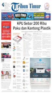 Cover Tribun Timur 12 April 2019