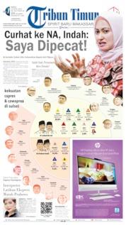 Cover Tribun Timur 13 April 2019
