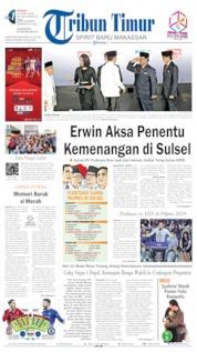 Cover Tribun Timur 14 April 2019