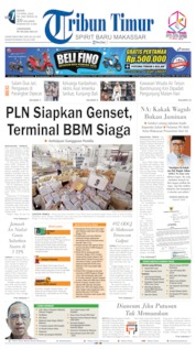 Cover Tribun Timur 15 April 2019