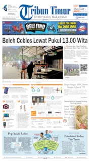 Tribun Timur Cover 17 April 2019