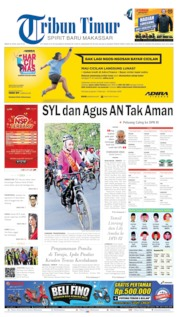 Cover Tribun Timur 22 April 2019