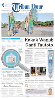 Cover Tribun Timur 23 April 2019