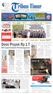 Cover Tribun Timur 24 April 2019