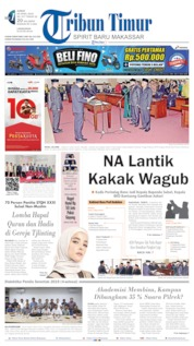 Cover Tribun Timur 26 April 2019