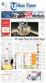 Cover Tribun Timur 06 Mei 2019