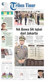 Cover Tribun Timur 07 Mei 2019