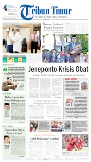 Cover Tribun Timur 09 Mei 2019