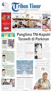 Tribun Timur Cover 12 May 2019