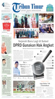 Tribun Timur Cover 14 May 2019