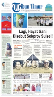 Tribun Timur Cover 16 May 2019