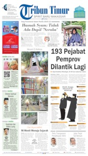 Tribun Timur Cover 18 May 2019