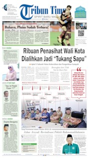 Tribun Timur Cover 21 May 2019