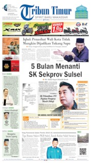 Tribun Timur Cover 22 May 2019