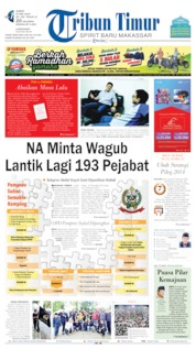 Tribun Timur Cover 24 May 2019