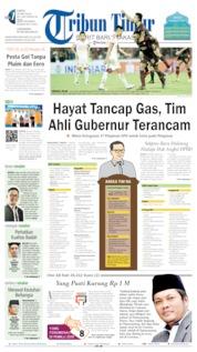 Tribun Timur Cover 25 May 2019