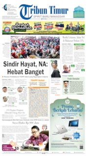 Tribun Timur Cover 27 May 2019