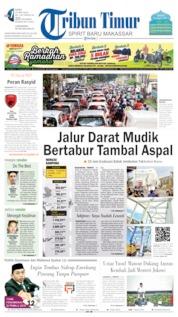 Tribun Timur Cover 29 May 2019