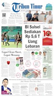 Tribun Timur Cover 30 May 2019