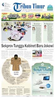 Tribun Timur Cover 31 May 2019