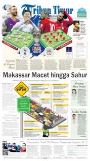 Tribun Timur Cover 01 June 2019