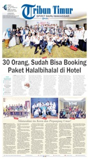 Tribun Timur Cover 07 June 2019