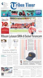 Tribun Timur Cover 10 June 2019