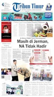 Tribun Timur Cover 14 June 2019