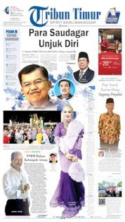 Tribun Timur Cover 16 June 2019