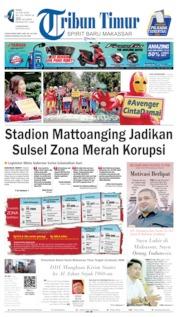 Tribun Timur Cover 19 June 2019
