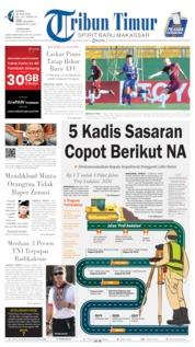 Tribun Timur Cover 20 June 2019
