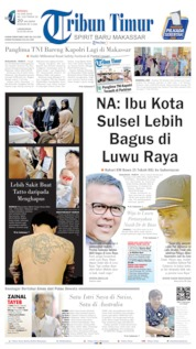 Tribun Timur Cover 23 June 2019