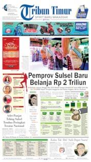 Tribun Timur Cover 24 June 2019