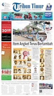Cover Tribun Timur 26 Juni 2019