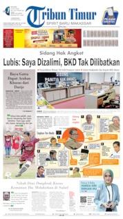 Tribun Timur Cover 09 July 2019