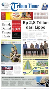 Tribun Timur Cover 18 July 2019