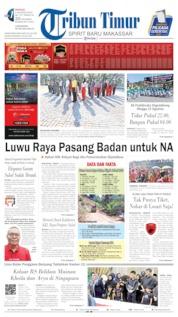 Tribun Timur Cover 04 August 2019