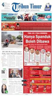 Tribun Timur Cover 05 August 2019