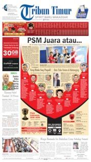 Tribun Timur Cover 06 August 2019