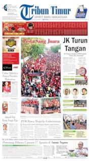 Tribun Timur Cover 08 August 2019
